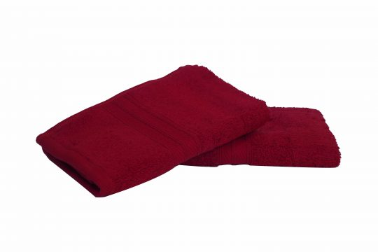 Rich Red | Spectra Semi-Combed Hand Towels 1