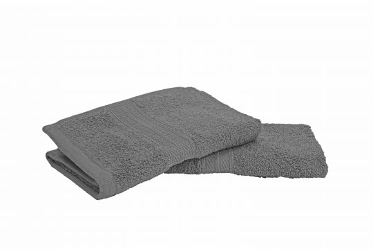 Grey | Spectra Semi-Combed Towels 1