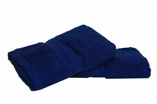 Navy | Spectra Semi-Combed Hand Towels